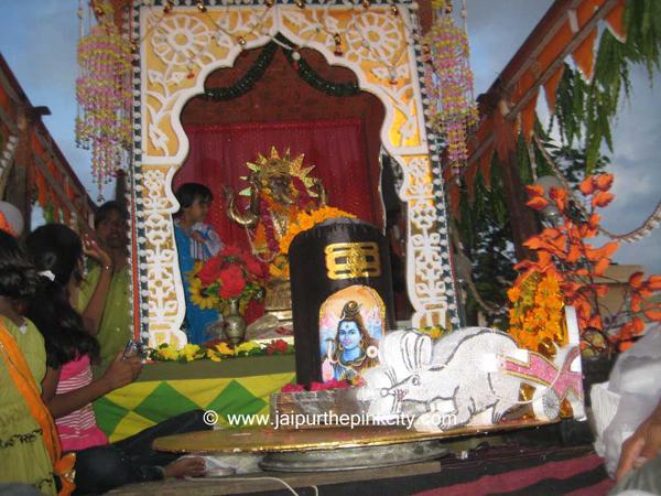 Wall Decoration Ideas For Ganpati : Jaipur ganesh chaturthi photo gallery of