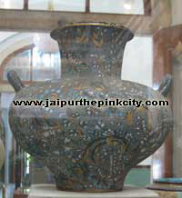 european ceramic in albert hall museum jaipur