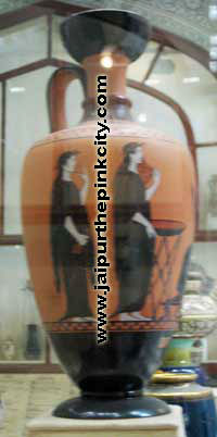 hungarian pottery in albert hall museum jaipur