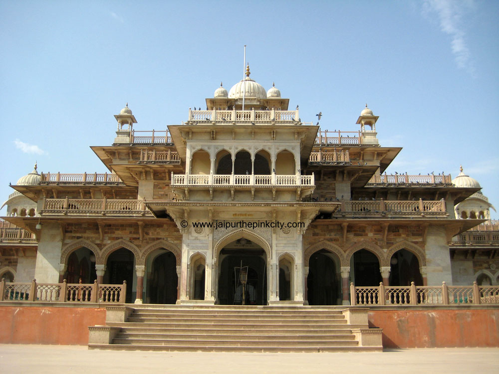 Front Elevation Of House In Jaipur : Jaipur travel museum albert hall page