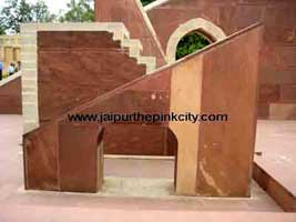 Pole Star instrument in Jantar Mantar Jaipur
