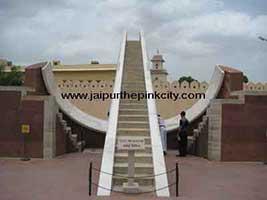 Jantar Mantar Jaipur Small Sun Dial instrument