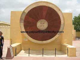 Southern Dial of Nadivalaya instrument in Jantar Mantar Jaipur