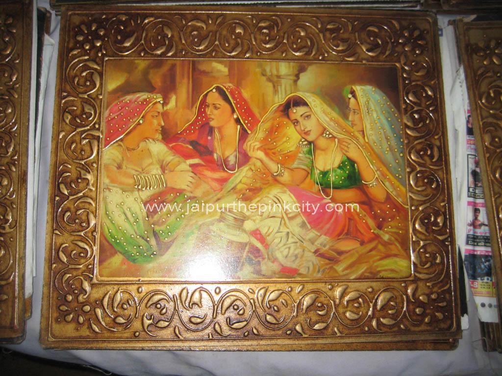 Miniature Painting Wallpaper Jaipur Miniature Painting