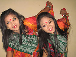 Girls of Assam Photo