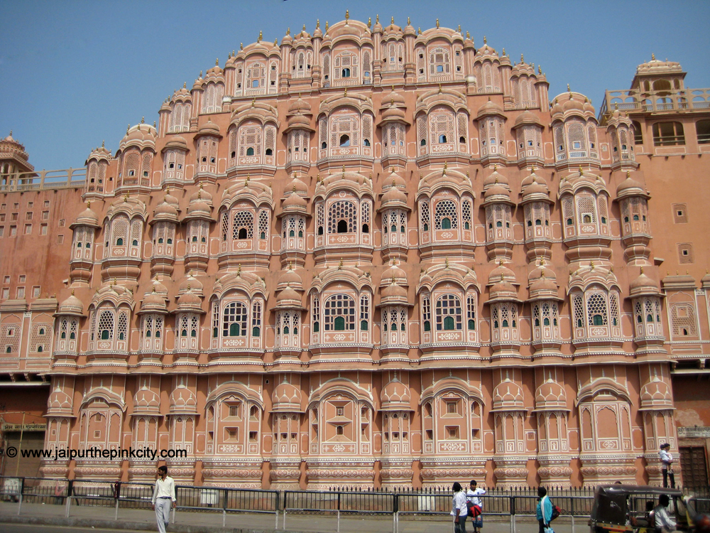 Front Elevation In Jaipur : Jaipur travel photo hawa mahal