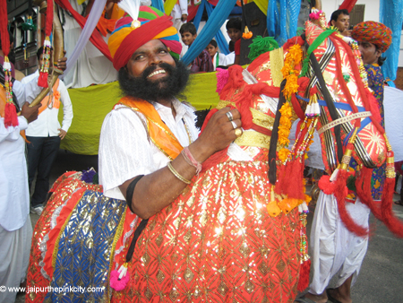 Jaipur | Kachhi Ghodi Photo | Dummy Horse Folk Dance Photo