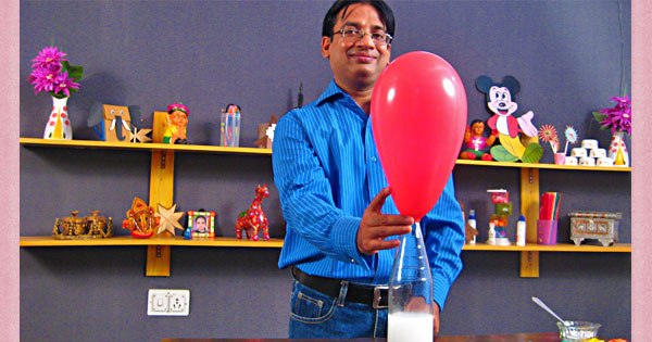 Balloon Inflation Magic : Science Projects For Kids In Hindi