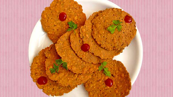 Besan Papdi Recipe In Hindi