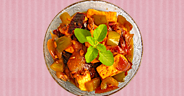 Garlic Paneer Recipe