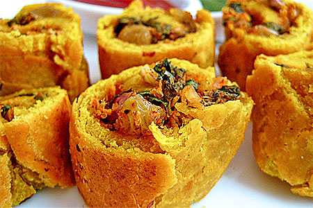 Green Veg Spring Roll Recipe in HIndi
