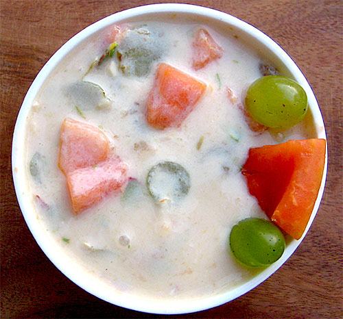 Mix Fruit Raita Recipe