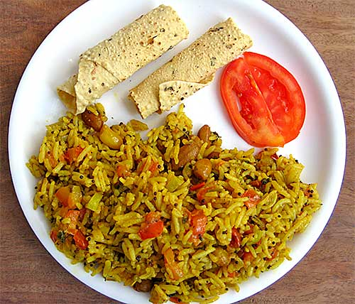 Tomato Pulao Recipe in Hindi
