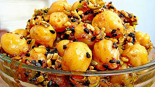 Chana Achar Recipe in Hindi