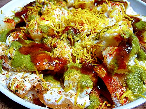 Papdi chaat recipe in hindi with video papdi chaat recipe forumfinder Images