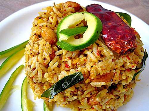 Raw Mango Pulao Recipe in Hindi