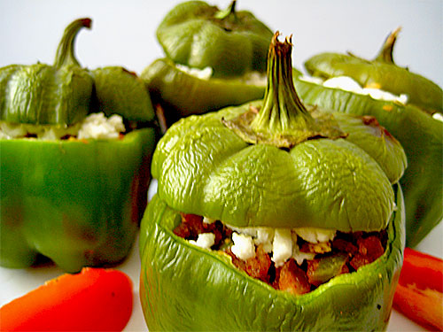 Stuffed Capsicum Recipe in Hindi
