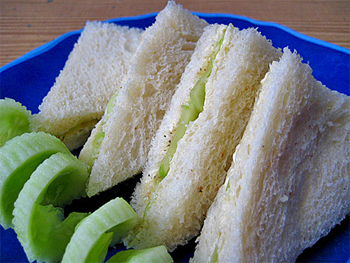 Cucumber Sandwich Recipe in Hindi