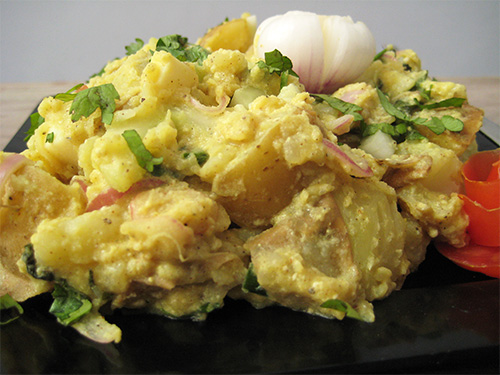 Potato Salad Recipe in Hindi