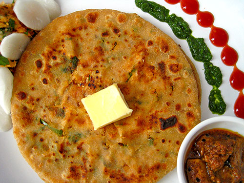 Image result for mooli ka paratha