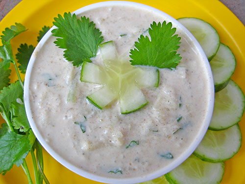 Cucumber Raita Recipe In Hindi
