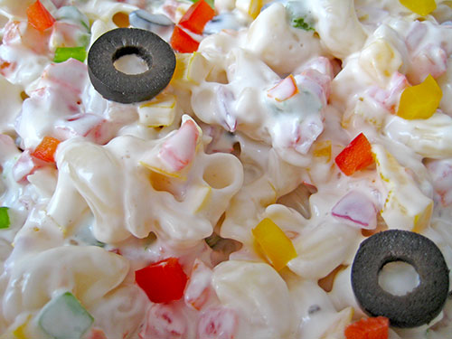 Creamy Pasta Salad Recipe In Hindi