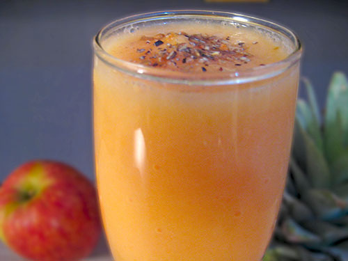 Papaya Pineapple Smoothie Recipe In Hindi