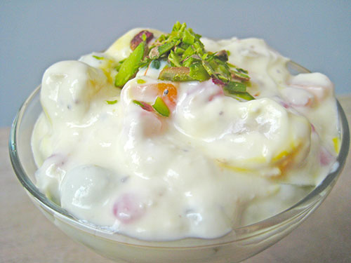 Fruit Cream In Hindi