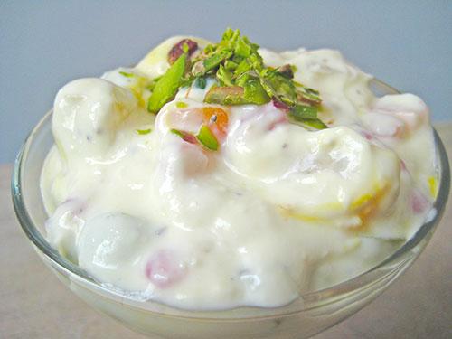 Fruit Cream In Hindi