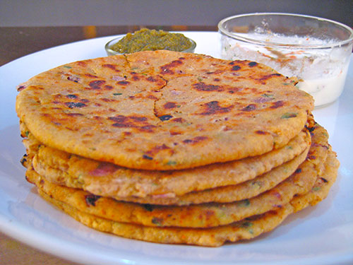 Image result for aaloo paratha at home in hindi