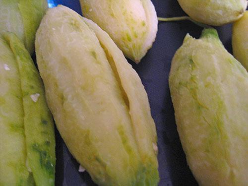 Boiled bitter melon