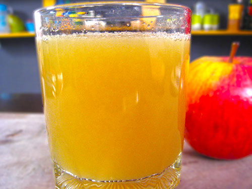 Combination of bottlegourd juice and apple juice