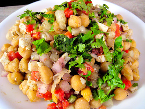 Chickpea Salad Recipe In Hindi