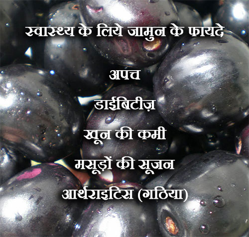 Health Benefits Of Jamun In Hindi