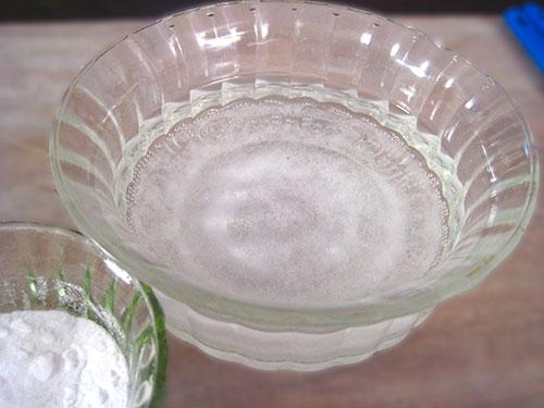 Baking Soda water