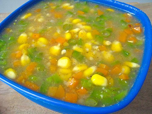 Sweet Corn Soup Recipe In Hindi