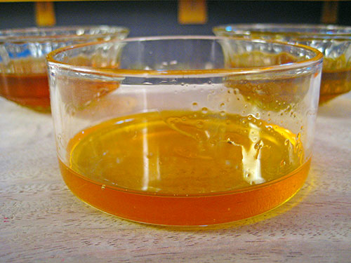 Combination Of Honey And Mustard Oil