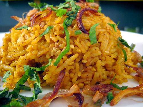 Sesame Tamarind Pulao Recipe