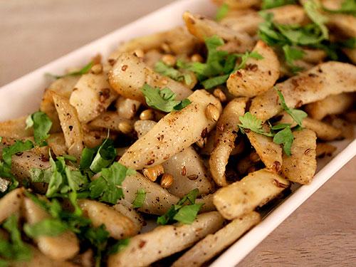 Falahari Arbi Recipe In Hindi By Sameer Goyal