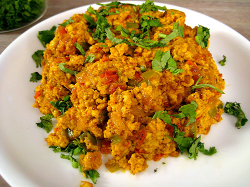 Paneer Bhurji Recipe In Hindi With Video