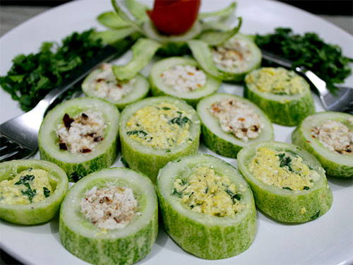 Cheese Cucumber Salad Recipe In Hindi