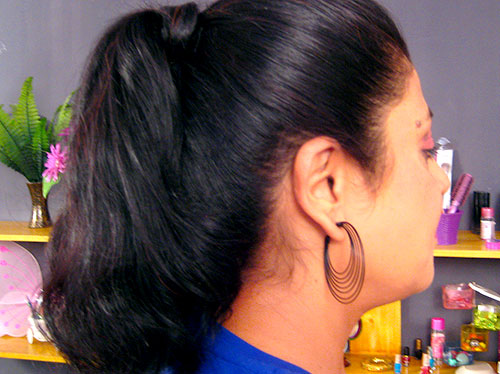 How To Make High Ponytail